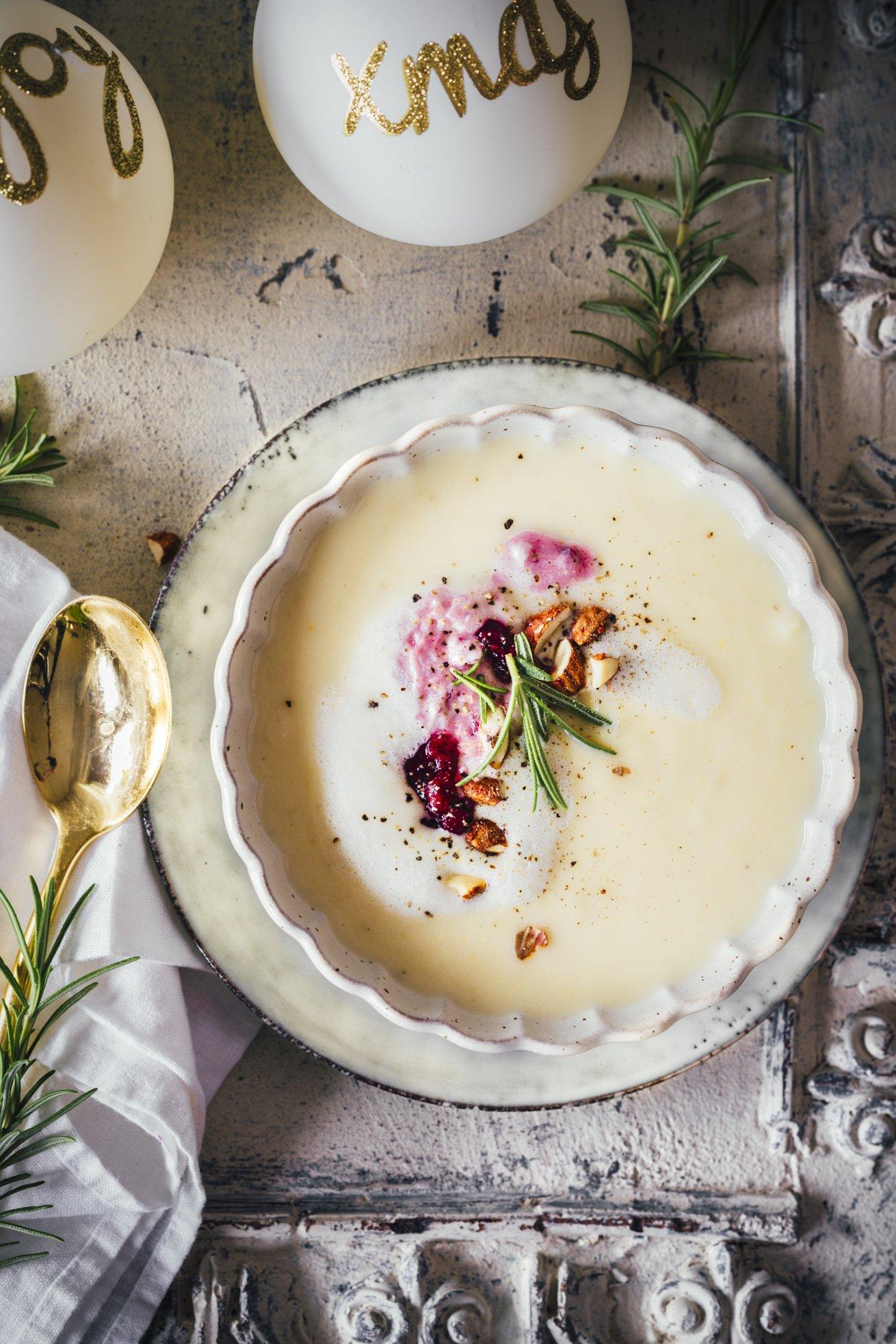 Pastinaken Suppe - Weihnachten