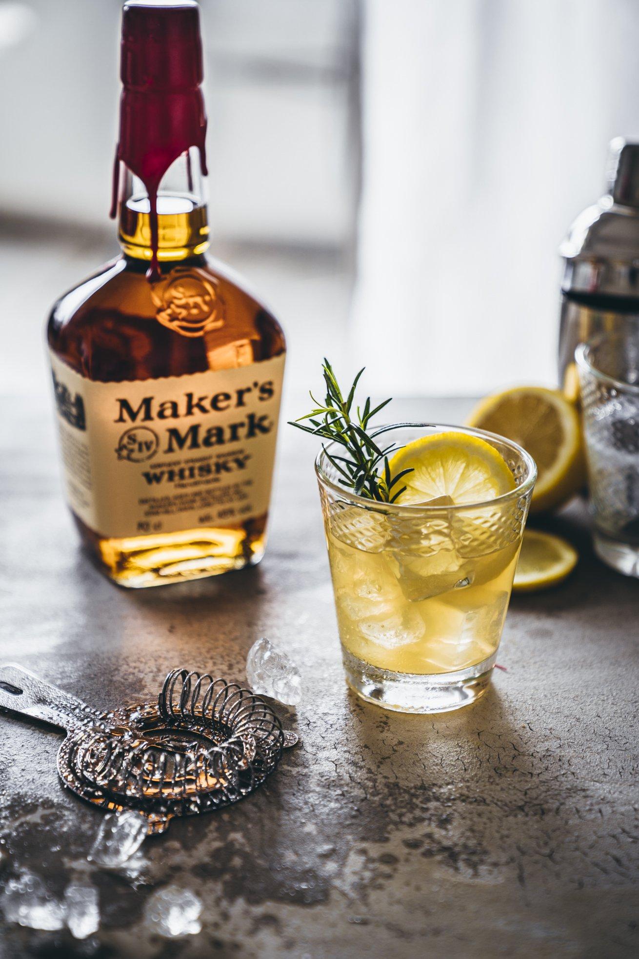 Rezept für Whisky sour Drink