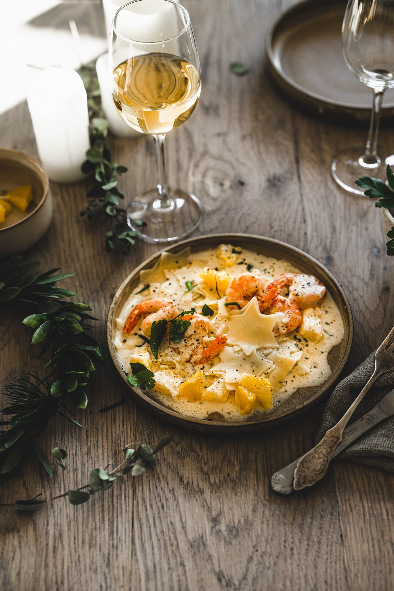 Unsere Pasta fürs Weihnachtsmenü
