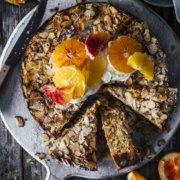 Ricotta Mandelkuchen ohne Mehl
