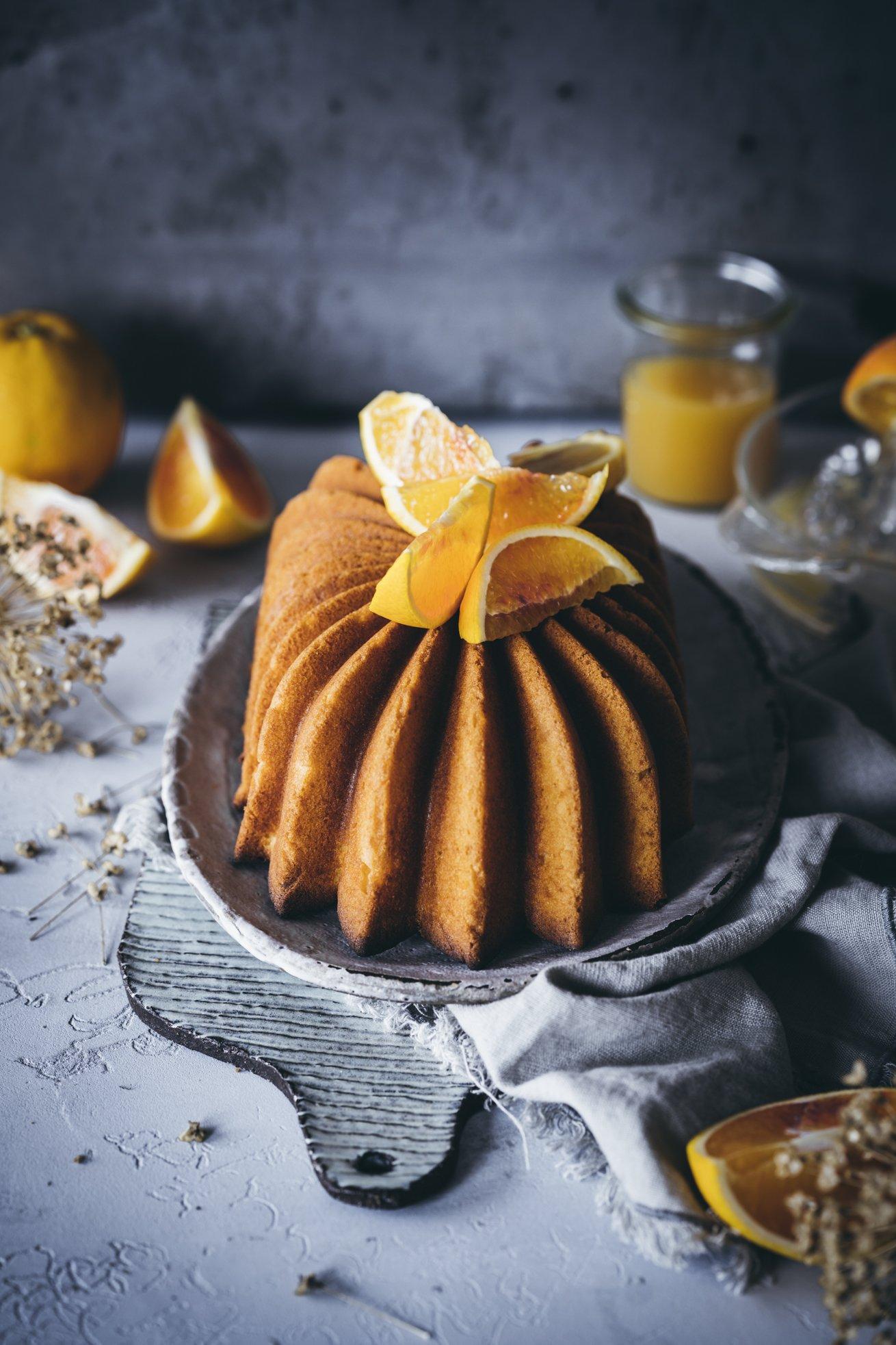 Omas Rezept für Orangenkuchen