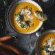 Pikante Möhren Kokos Suppe