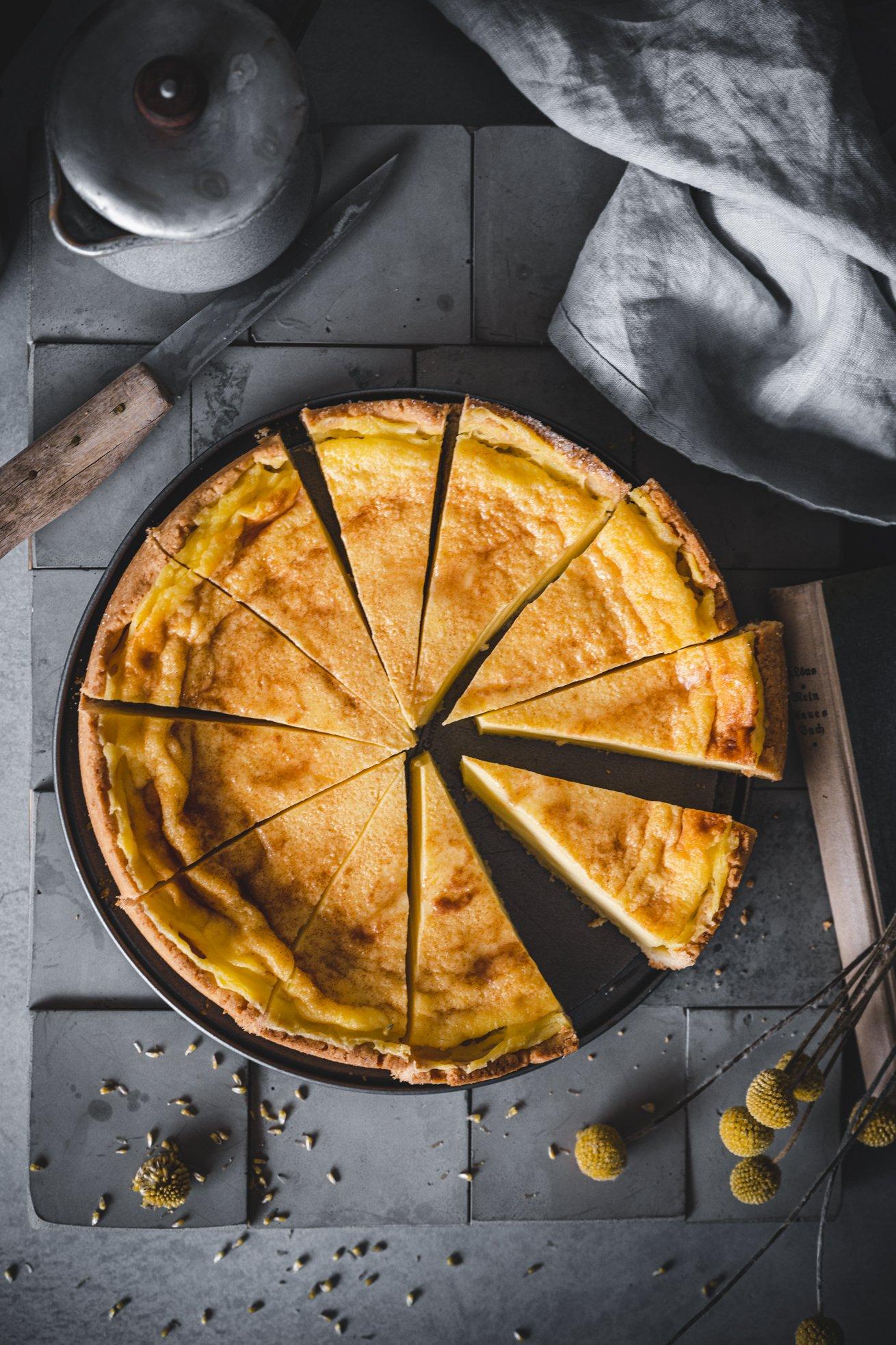 Einfaches Rezept für Rahmkuchen