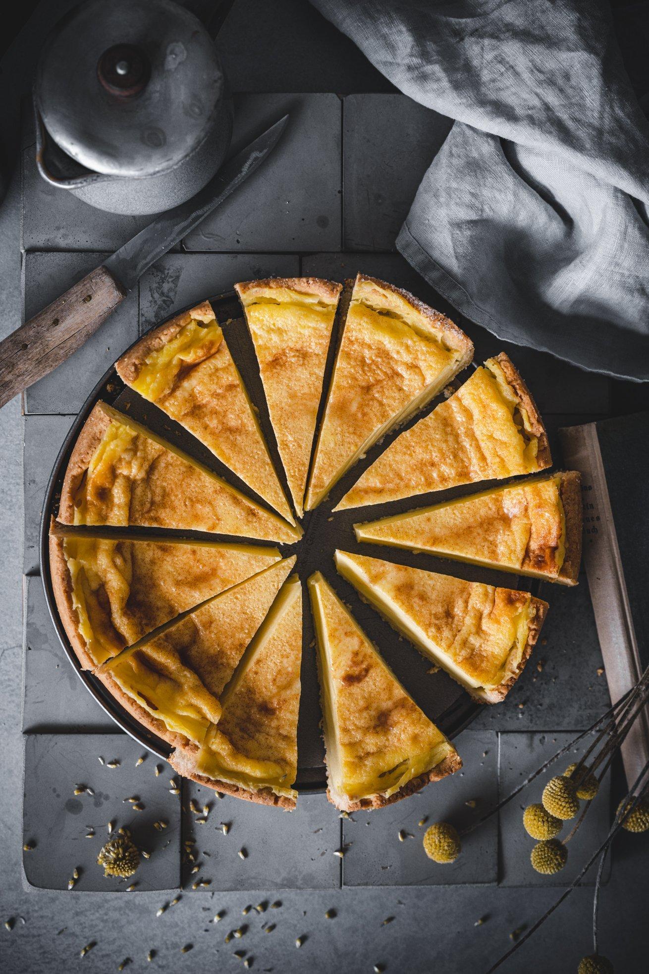 Klassischer Rahmkuchen wie von Oma