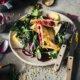 Vegetarische Maultaschen mit Roter Bete Füllung