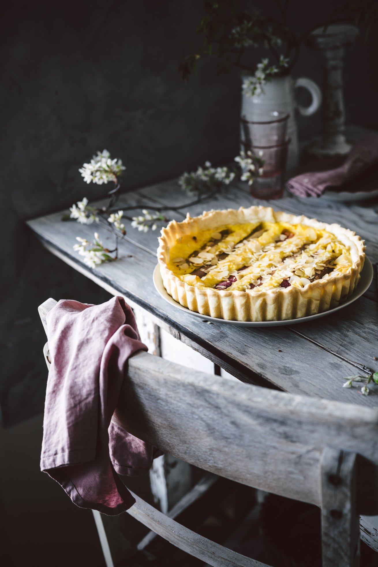 Lieblings Rhabarberkuchen mit Pudding
