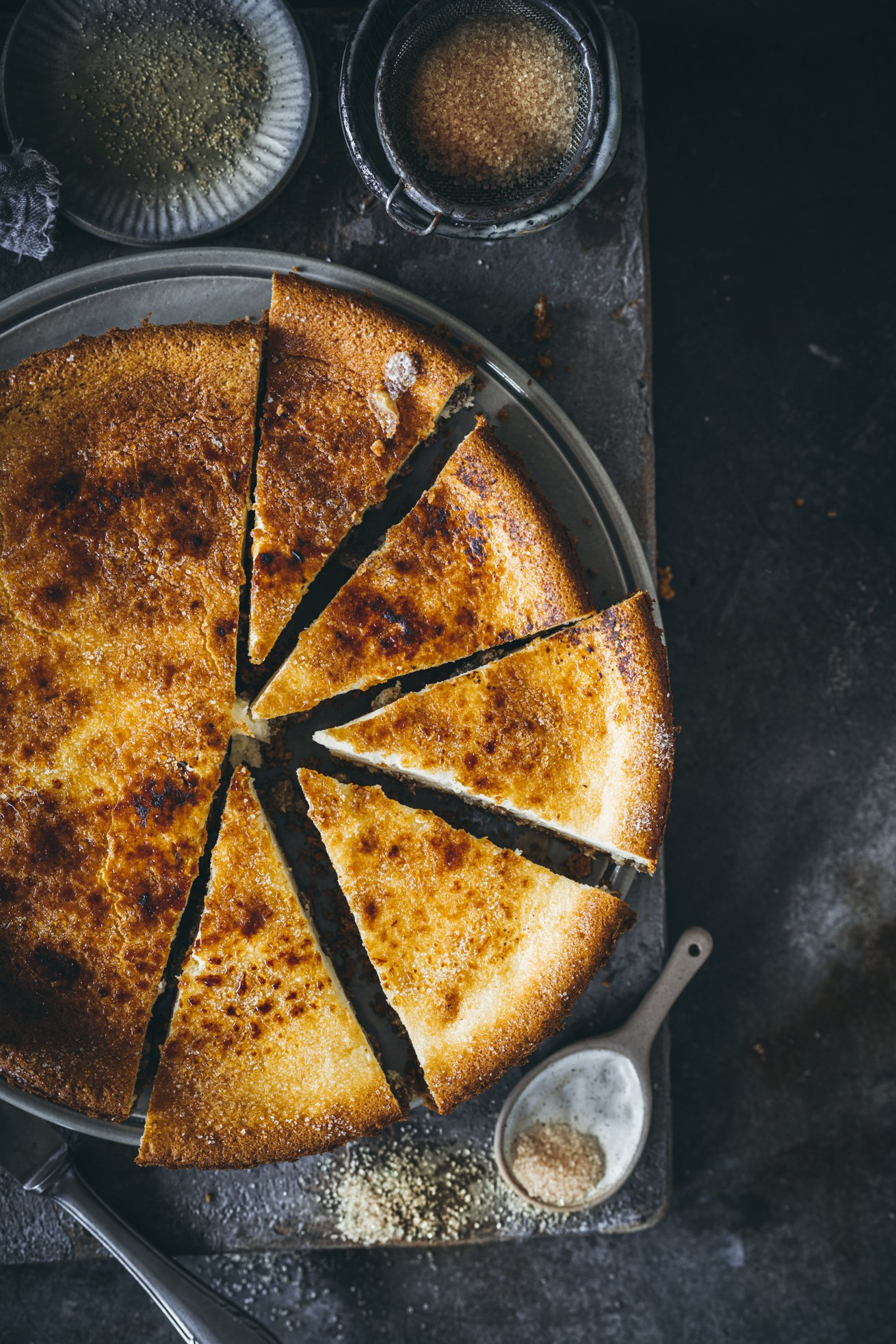 Rezept Creme Brulee Cheesecake