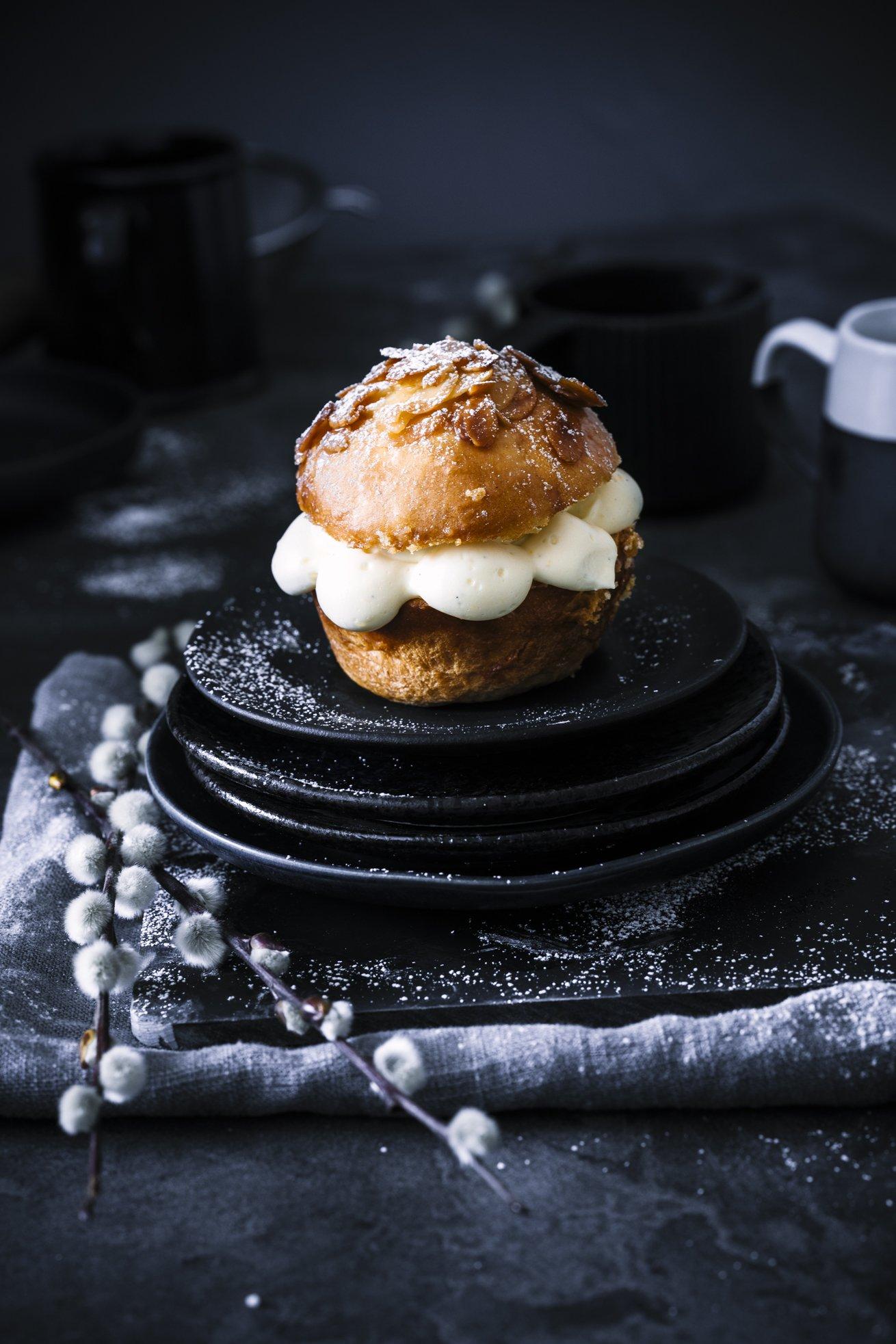 Bienenstich Muffins mit Eierlikör