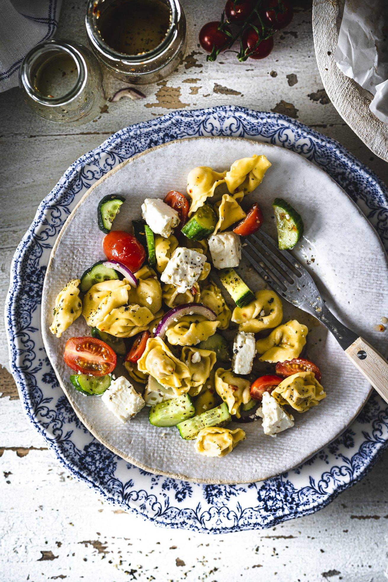 Sommerlicher Tortellini Salat