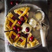 Klassische Cherry Pie