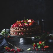 Beeren Schoko Mousse Torte