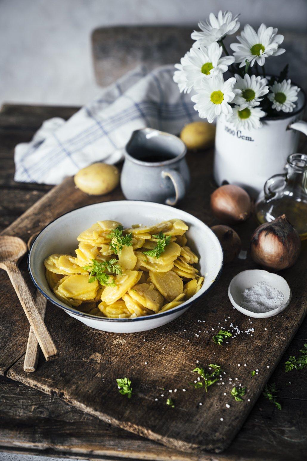 Unser bester schwäbischer Kartoffelsalat