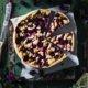 Brombeer Kuchen mit Quark und Streuseln