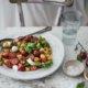 Gnocchi Salat alla Caprese
