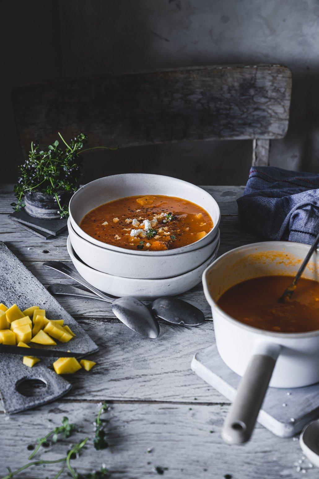 Karotten Mango Suppe