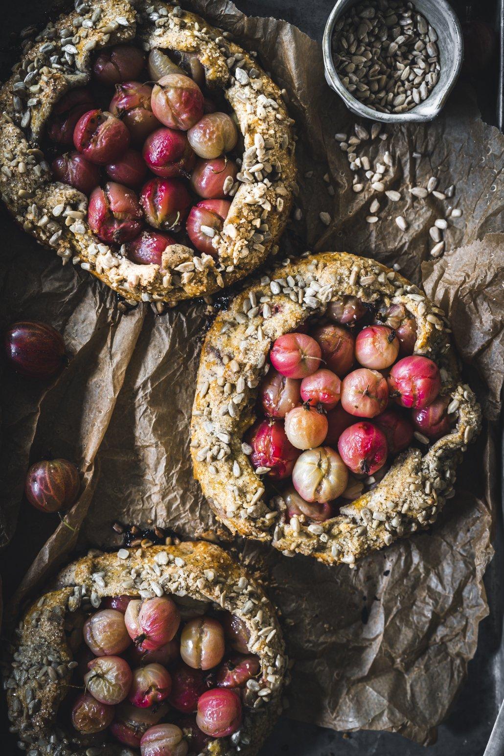 Stachelbeer Crostata