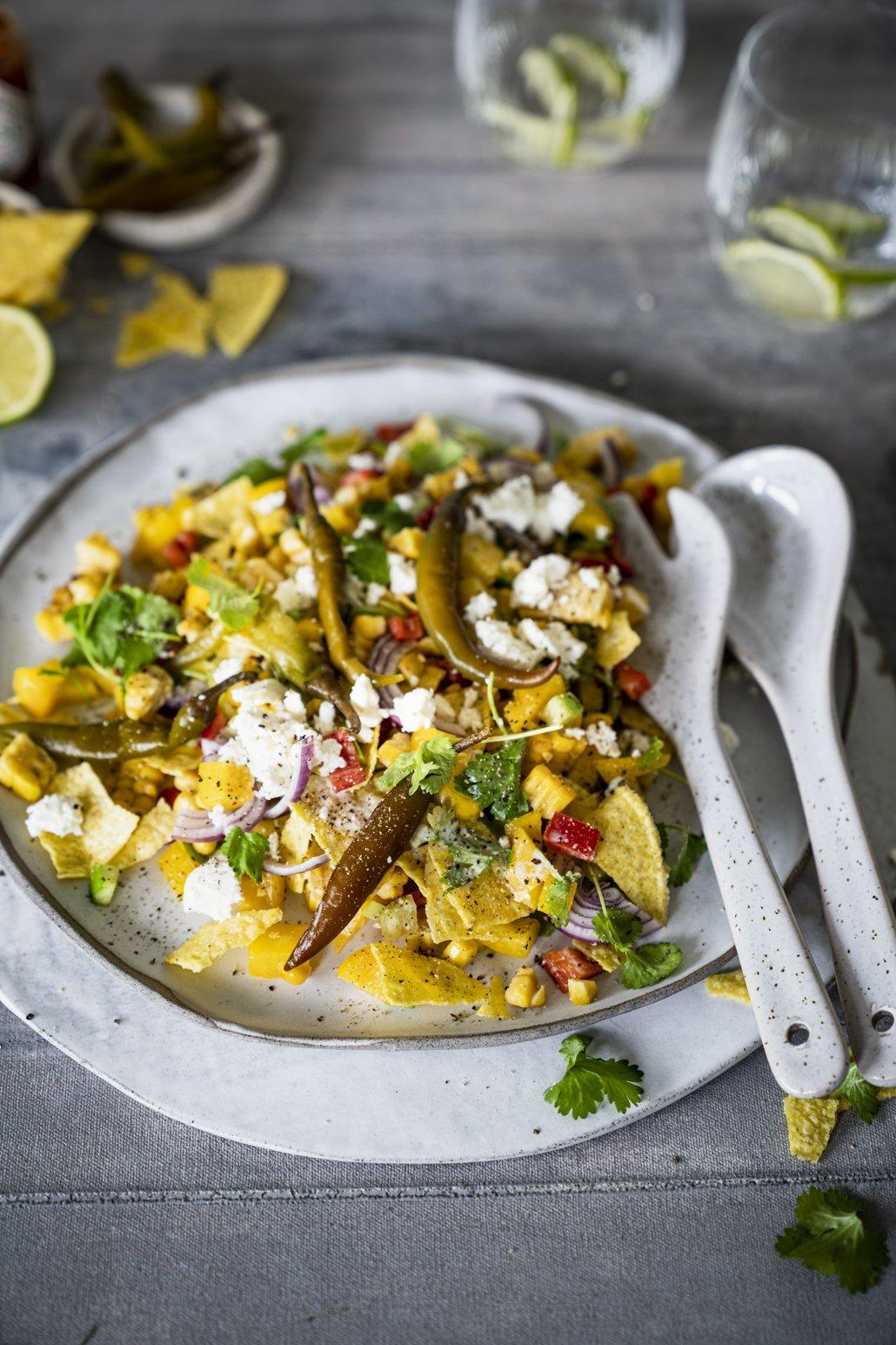 Mexikanischer Mais Salat