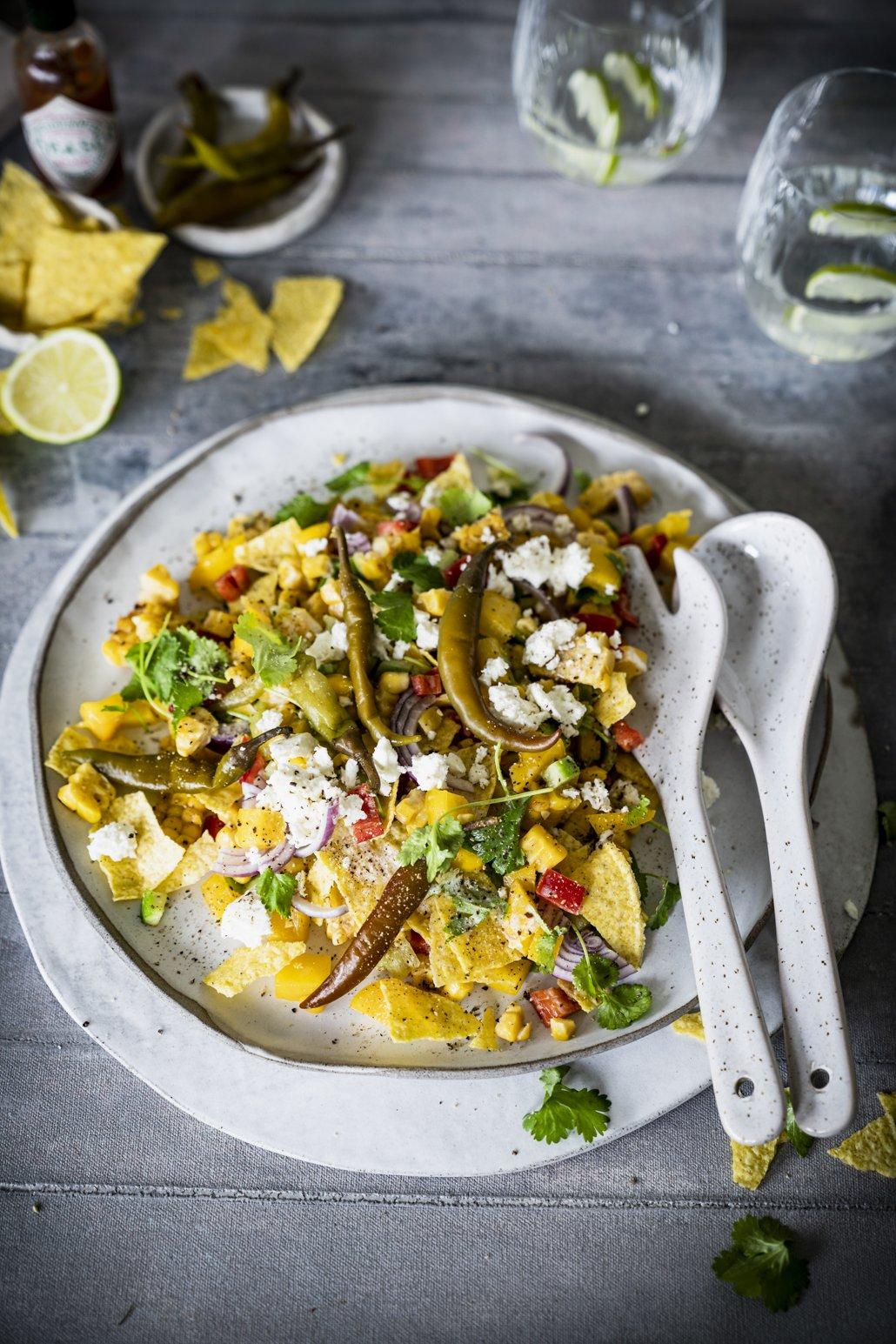 Mexikanischer Salat mit Mais