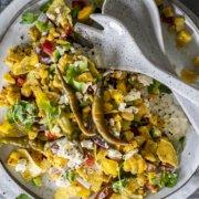 Grillbeilage Mexikanischer Mais Salat