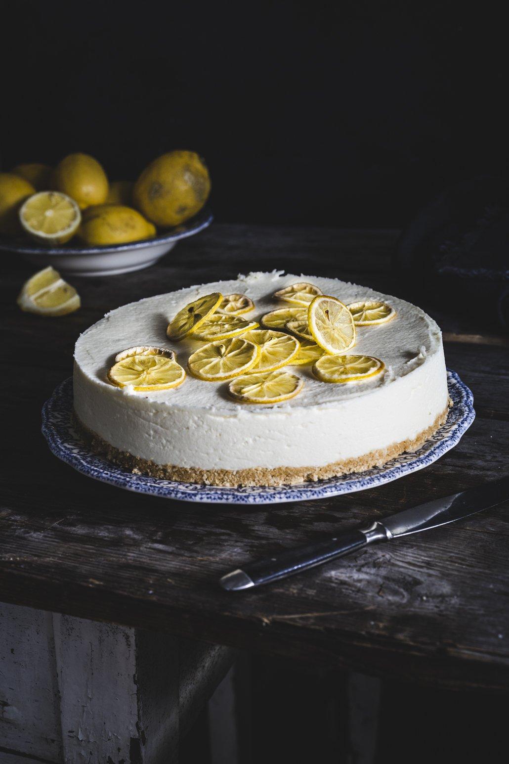 Erfrischende Zitronen Torte