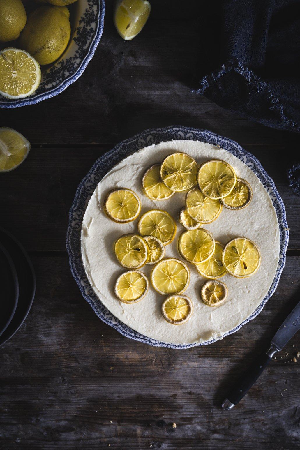 No Bake Zitronentorte