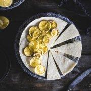 No Bake Torte mit Zitronen