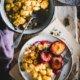 Grießschmarrn mit Ofen Pflaumen