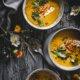 Cremige Zucchini Suppe mit Linsen