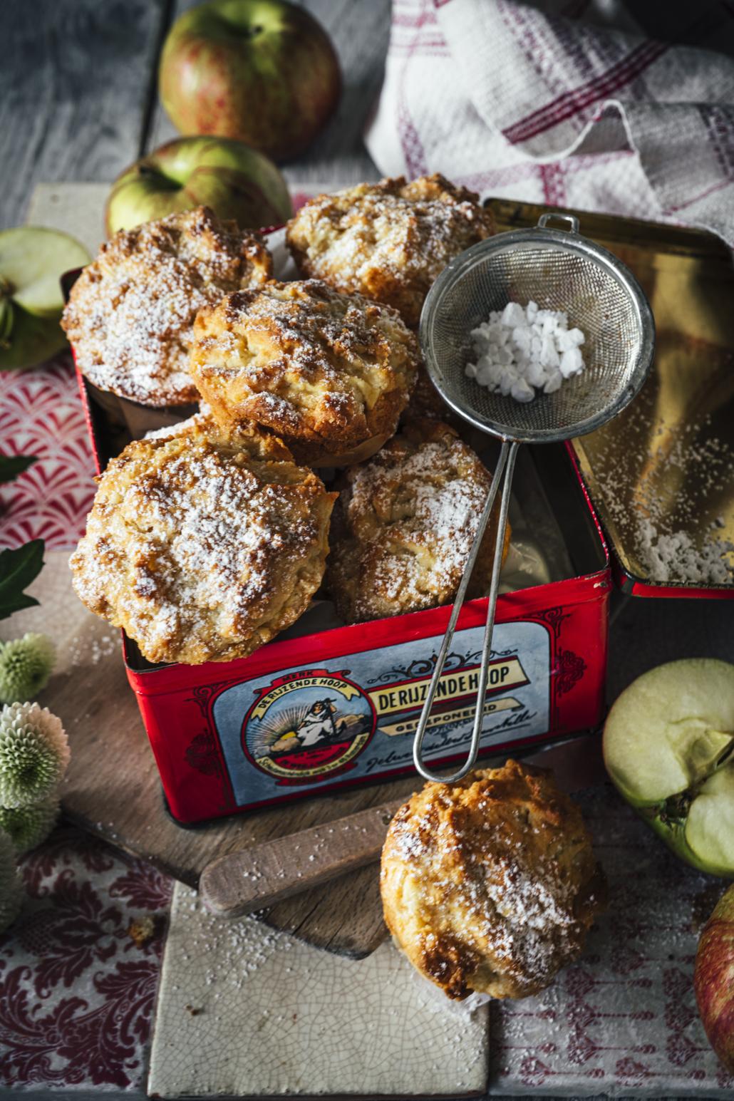 Apfel Calvados Muffins Rezept