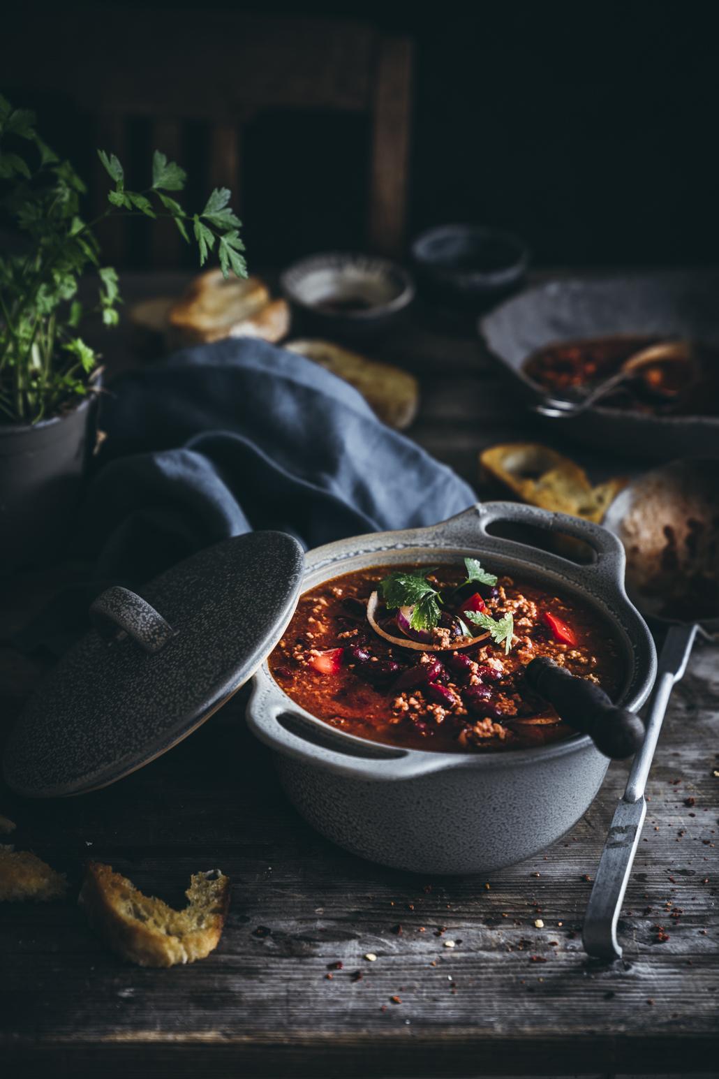 Pikantes Chili con Carne